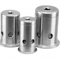 Stainless Steel Sanitary Pressure Relief Valve